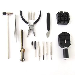16Pc Watchmaker Watch Repair Kit