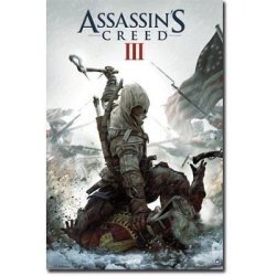 Laminated Assassin'S Creed 3 - Key Art Video Game Poster - 22X34