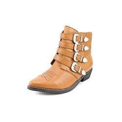 Kelsi Dagger Women'S Dallas Ankle Boot,Cognac,9.5 M Us