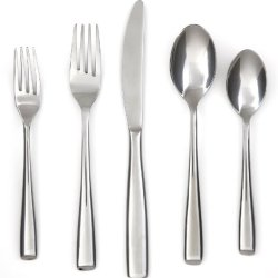 Cambridge Silversmiths Rachel Mirror 20-Piece Flatware Set