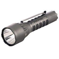 Streamlight 88860 Polytac Flashlight Led Hp With Lithium Batteries, Black