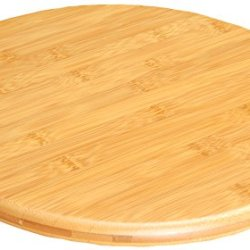 Lazy Susan Wooden Bamboo Chopping Cutting Board Kitchenware Cooking