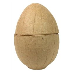 Paper Mache Vertical Egg Box 4 In. By Craft Pedlars