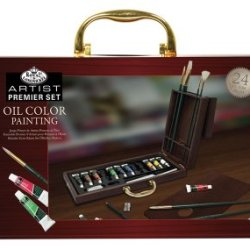 Royal & Langnickel Premier 27 Piece Oil Painting Artist Case
