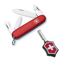 Victorinox Swiss Army Recruit Knife With Microlite