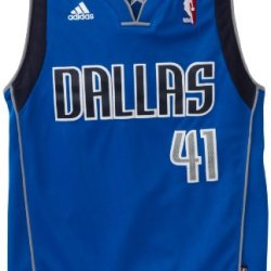 Nba Dallas Mavericks Dirk Nowitzki Swingman Road Youth Jersey, Blue, Large