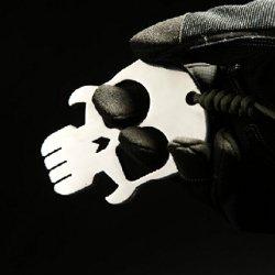 Crazy Shopping Skull Keychain Self-Defense Forces Emergency Survival Kit. 2 Fingers Grip Method Edc Self-Defense Equipment