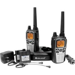 Midland Gxt860Vp4 Gmrs 2-Way Radio 42 Channel Up To 36 Miles Value Pack
