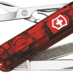 Victorinox Swiss Army Signature Lite Pocket Knife, Ruby