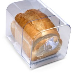 Progressive Adjustable Bread Keeper Box Bagel Muffin Air Vent Expandable