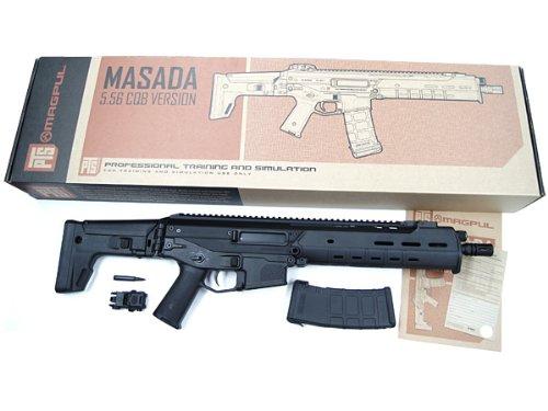 本家 PTS MAGPUL製 MASADA/ACR 5.56 CQB version  (可変HOP搭載電動エアガン) / カラーブラック