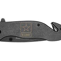 Us Army Engraved Tac-Force Tf-811Sb Speedster Model Folding Pocket Knife By Ndz Performance