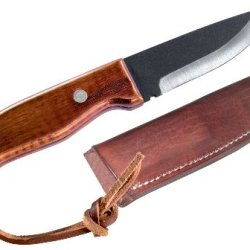 Pro Tool Industries J. Wayne Fears Deer Hunter'S Fixed Blade Knife With Leather Sheath