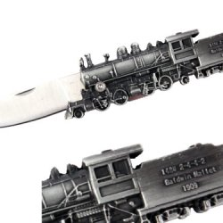Train Design Gift Pocket Knife