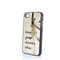 Generic Phone Accessories Matte Hard Plastic Phone Cases Colorful Dream Catcher Fit For Iphone 4/4S