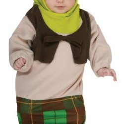 Shrek Bunting And Headpiece Shrek, Shrek Print, Newborn Costume