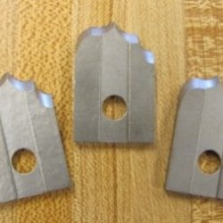 Corob Molding Knife: #25 Curved Flute & Quarter Round