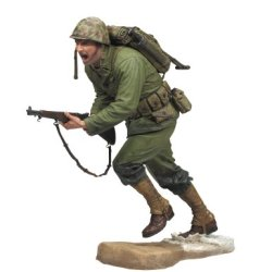 Marine Infantry Call Of Duty World At War - Battle Of Peleliu Action Figure