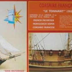Soclaine Model Ship Le Tonnant