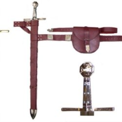 Robinhood Sword Scabbard / Belt & Pouch (#Swrh100)