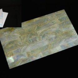 Gold Mother-Of-Pearl (Mop) Shell Adhesive Veneer Sheet