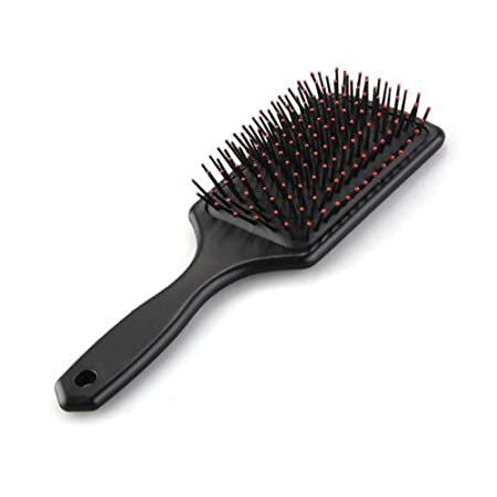 * SODIAL is a registered trademark. ONLY Authorized seller of SODIAL can sell under SODIAL listings.Our products will enhance your experience to unparalleled inspiration. SODIAL(R) Professional Black Paddle Cushion Hair Massage Brush Hairbrush Comb.D...