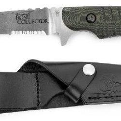 "Benchmade Michael Waddell'S Bone Collector Skinner 4.3"" D2 Plain Blade, Green/Black G10 Handles"
