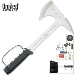 United Cutlery Uc2962 Bushmaster Survival Axe With Sheath