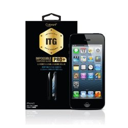 Itg Tempered Glass Pro+ Colorant 0.33 Mm Ultra Slim Fo 5 5S 5C Screen Protector Film 9H Strength Level Plus