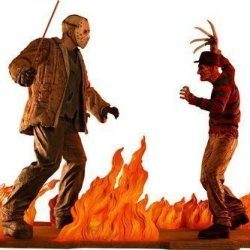 Neca Limited Edition Statue Freddy Vs. Jason