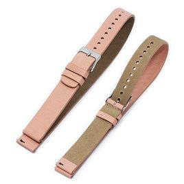 Fitian-Champagne-Rose-Gold-16mm-Adjustable-Length-Leather-Watch-Strap-Soft-Wrist-Band-Buckle-for-Moto-360-2-2nd-Gen-Woman-42mm-and-Other-Watches