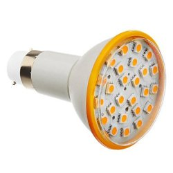 6 W B22 X5050Smd 25 450-500 Lm 3000 K Of Warm White Led Bulb Sizes (200-240 - V)