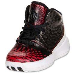 Adidas Boys' D Rose 3.5 Basketball Shoes-Black/Red/White-8