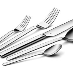 Wmf Dune 40-Piece Stainless Steel Flatware Set (Service For 8)