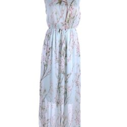 Anna-Kaci S/M Fit Multicoloured Soft Ethereal Knife Pleat Floral Print Dress