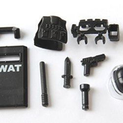 Custom Swat / Riot Gear - Lot 8-5 (For Minifigs)