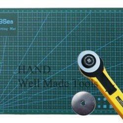 A3 Cutting Mat+ 45Mm Rotary Cutter+ 45Mm Blade