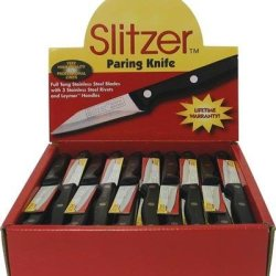 60Pc Paring Knife In Display