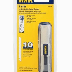 Irwin 2086301 10/Pack Snap Blades 9Mm