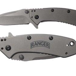 Banner Ranger Engraved Kershaw Cryo 1555Ti Folding Speedsafe Pocket Knife By Ndz Performance