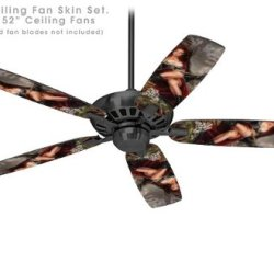 Red Riding Hood - Ceiling Fan Skin Kit Fits Most 52 Inch Fans (Fan And Blades Sold Separately)
