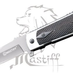 Mastiff M1911 Gun Grip Style 8Cr14Mov Steel Assisted Open Tactical Folding Knife
