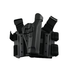 Blackhawk! Serpa Level 2 Tactical Black Holster, Size 13, Right Hand, (Glock 20/21/21Sf/37/38 M&P All Models W Or W/O Rails )
