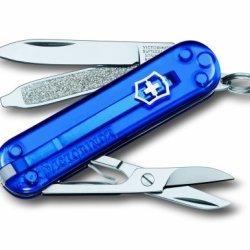 Victorinox Classic Sd - Translucent Blue Swiss Army Knife 06223T2Np