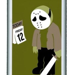 Knife Cartoon People Personalized Samsung Galaxy Note 2/ Note Ii/ N7100 Case And Cover - Tpu - Black