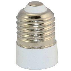 5Pcs E27 To E14 Extend Base Led Light Lamp Bulb Adapter Converter Screw Socket