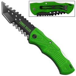 Zombie Killer Manual Folding Tanto Knife