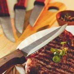 Quality Basics 4-Pc Steak Knife Set (Walnut) By Chicago Cutlery