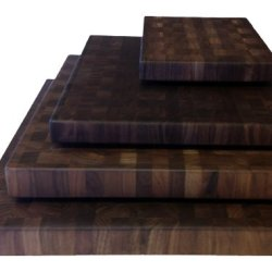Walnut Cutting Boards End Grain Hardwood Butchers Chopping Block Size: Large 16X20 Inch