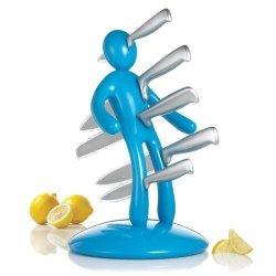 Raffaele Iannello The Ex Blue Kitchen Knife Set